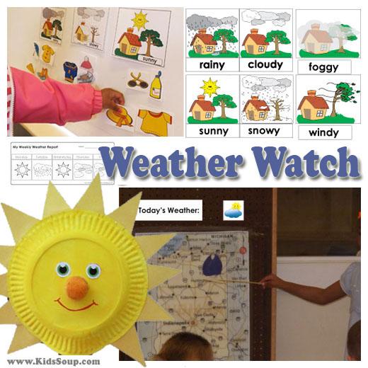 Preschool Weather Activities And Crafts KidsSoup